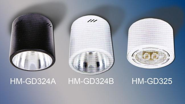 Downlight Surface Mounted (HALO-HM-GD324 & GD325)
