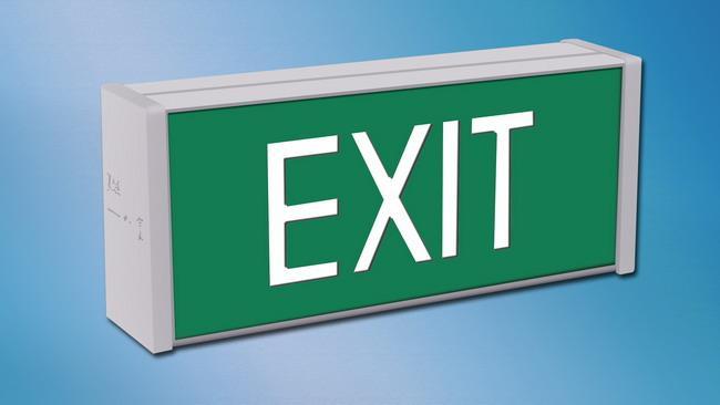 Exit Sign (HALO-ES-005)