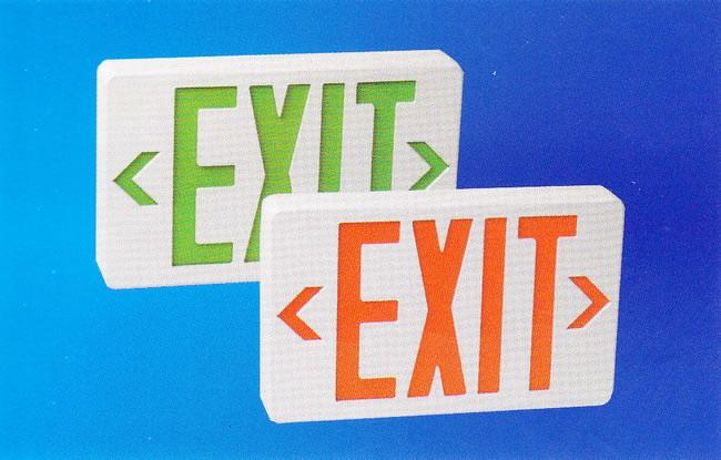 Exit Sign (HALO-LL-JW-021)