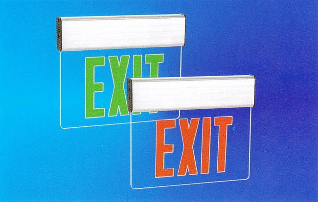 Exit Sign (HALO-LL-JW-023)