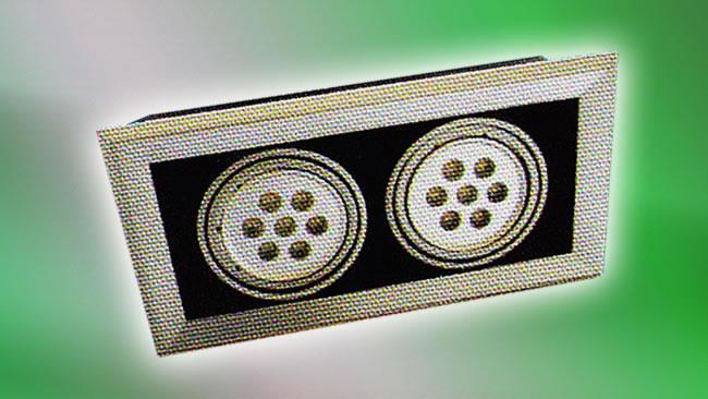 LED Recessed Double (HALO-CGX-006)