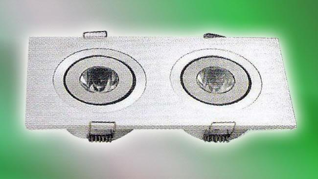 LED Recessed Double (HALO-FL-002)