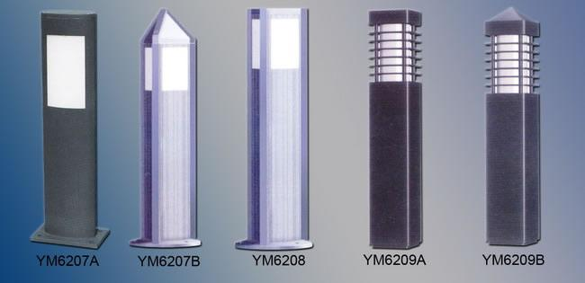 Bollard Garden Light (HALO-YM6210-YM6212)